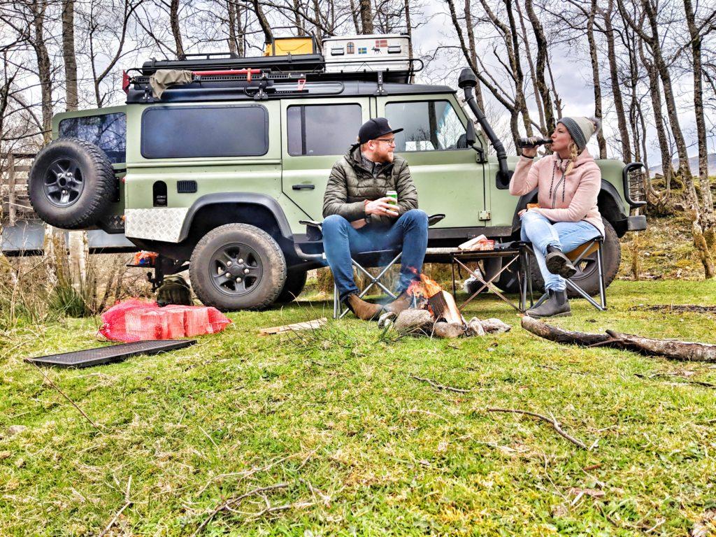 Fahrzegausbau Willibald - Sandra, Sven und natürlich Willibald.