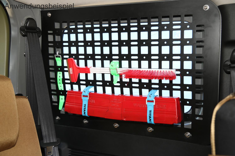 Nakatanenga - Auch die Titan-Straps können mit den Panel verwendet werden.