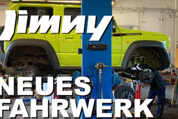 Suzuki Jimny Fahrwerk - 4x4PASSION #174