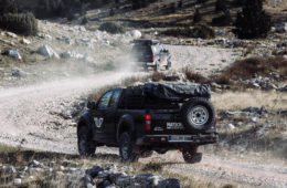 OF-Series Five Mountains Tour 2019 - Auf Pisten ging es auch mal zügiger zu.