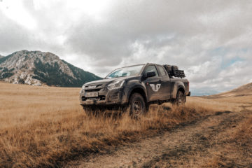 OF-Series Five Mountains Tour 2019 - Der Isuzu D-Max von Matsch&Piste in toller Kulisse.