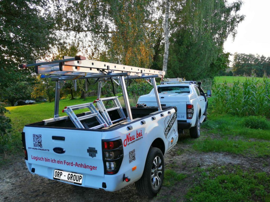 ORP Ford Ranger Anhänger - Alltagstauglich.