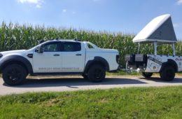 ORP Ford Ranger Anhänger - Gespann im Partner-Look.