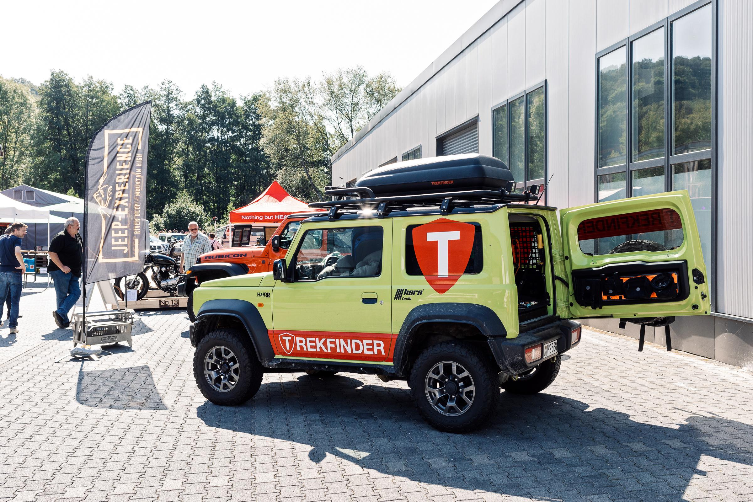 Sommerfest re-suspension 2019 - re-suspension 2019 - Trekfinder war auch dabei.