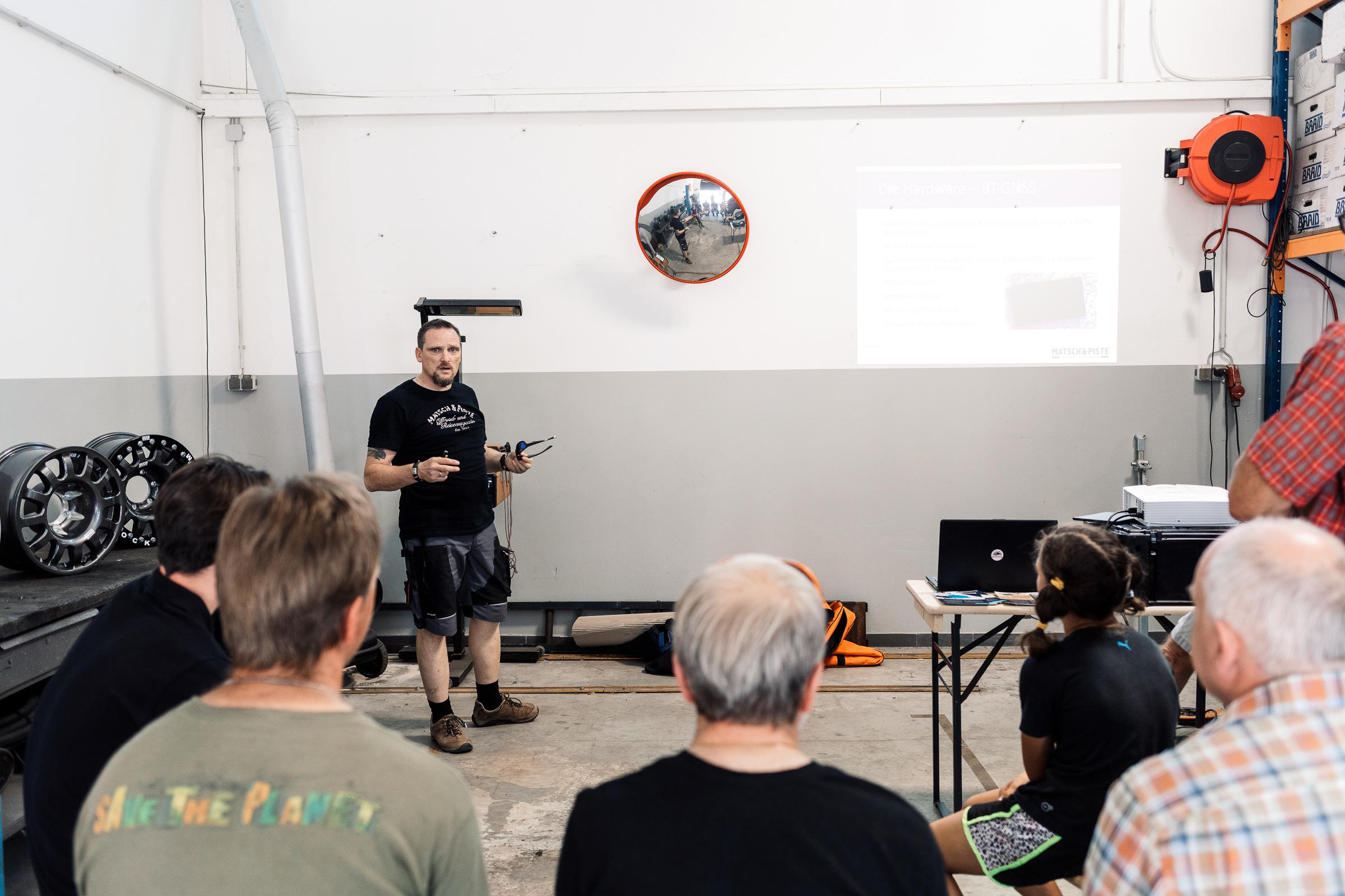 Sommerfest re-suspension 2019 - Navigationsworkshop mit Andres.