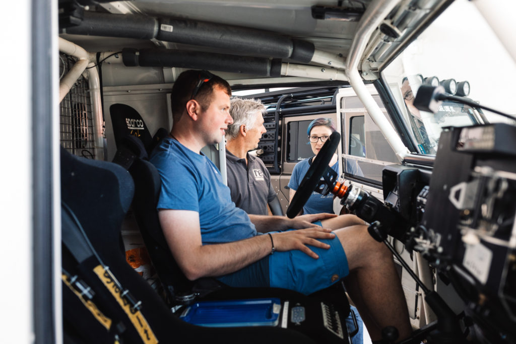 Sommerfest re-suspension 2019 - Sich wie ein Rallye-Pilot fühlen.