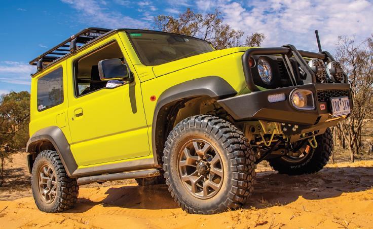 Suzuki Jimny GJ Rockslider von ARB - Jetzt bei Taubenreuther verfügbar.