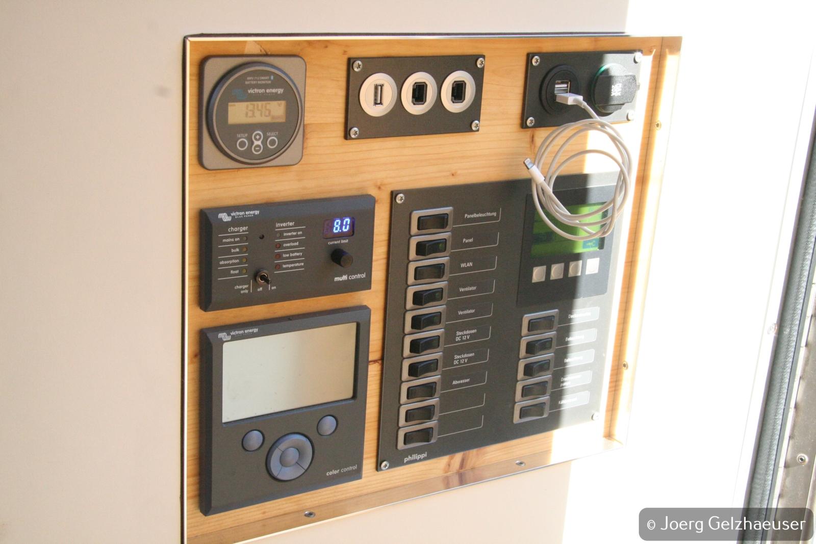 Unimog - Das universelle Motor-(Fernreise)-Gerät - Alles angeschlossen und… es funktioniert.