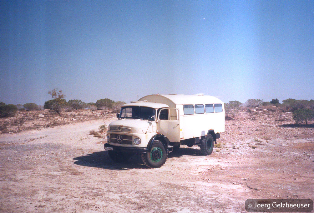Unimog - Das universelle Motor-(Fernreise)-Gerät - Der Anfang war win MB LA 710.