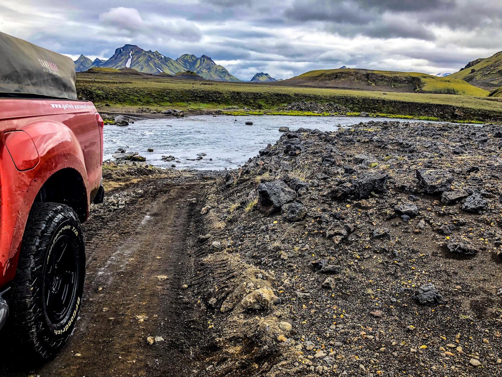 Neue Islandtour von Abenteuer4x4 - Island birgt viele Herausforderungen für Offroader.