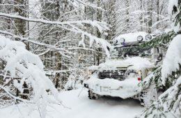Abenteuer4x4 - Polen Süd - Hoteltour im Winter
