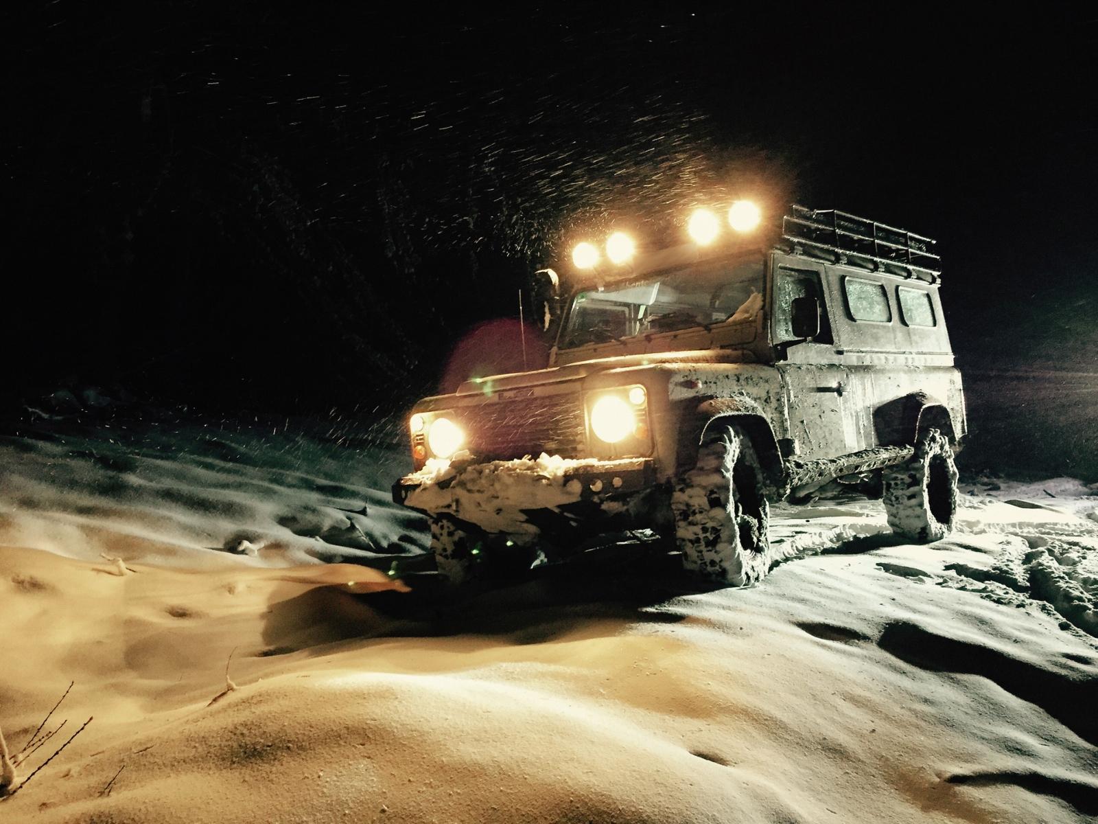 Abenteuer4x4 - Hoteltour im Winter - Special: Nachtfahrt, hoffentlich im Schnee.