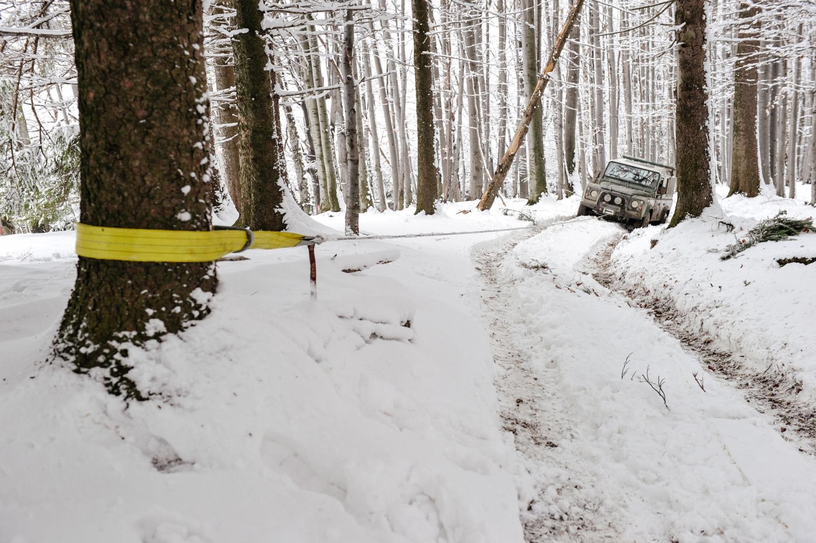 Abenteuer4x4 - Hoteltour im Winter - Bergematerial ist Pflicht.