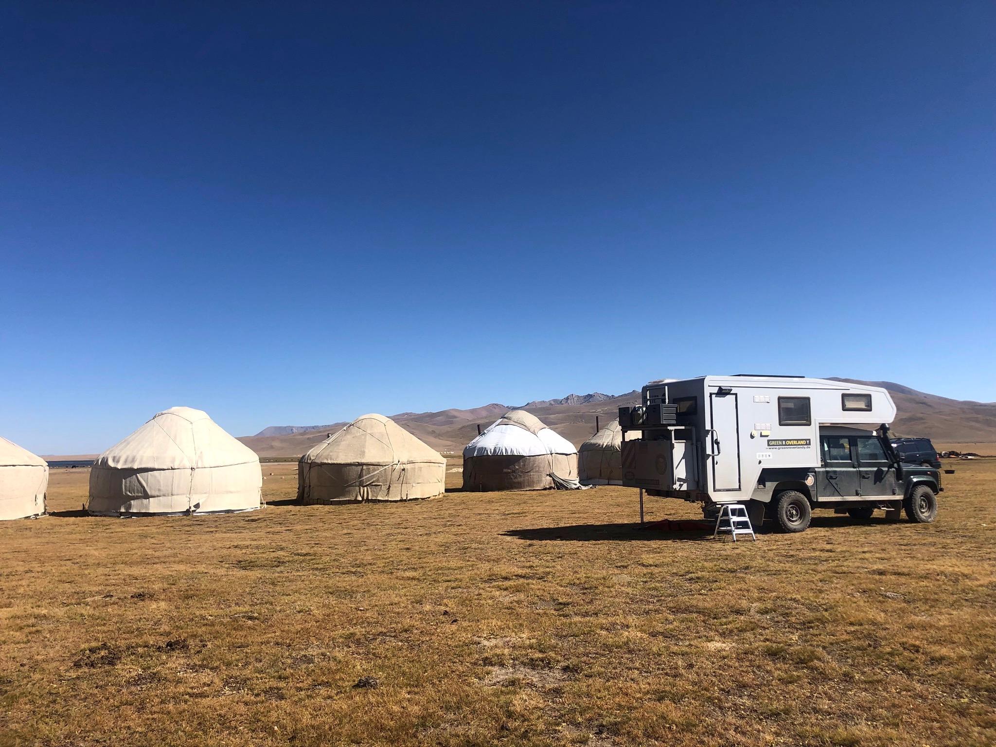 Offroad-Reise Russland, Mongolei und Zentralasien