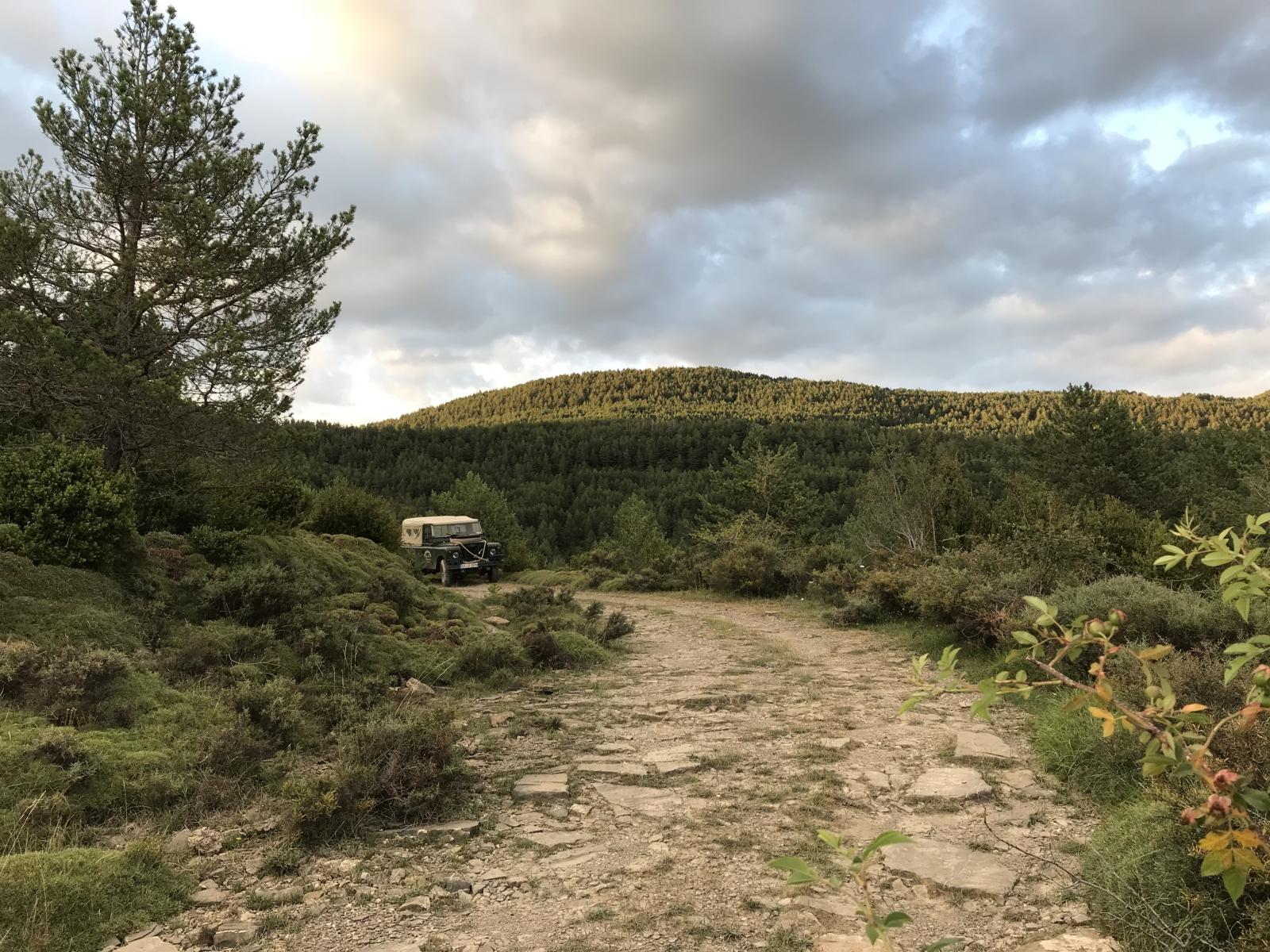 Im Oldtimer offroad durch die Pyrenäen - Die Heimreise beginnt.
