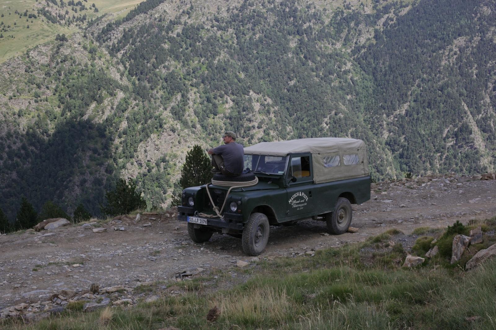 Im Oldtimer offroad durch die Pyrenäen - Zeit zum Durchatmen und um die Seele baumeln zu lassen.