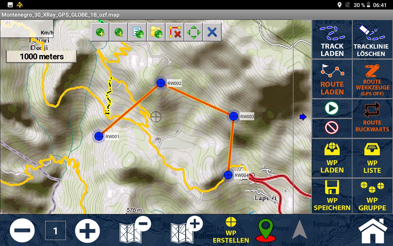 GPS Globe X8 im Test - Ein guter Routenplaner ist an Bord.