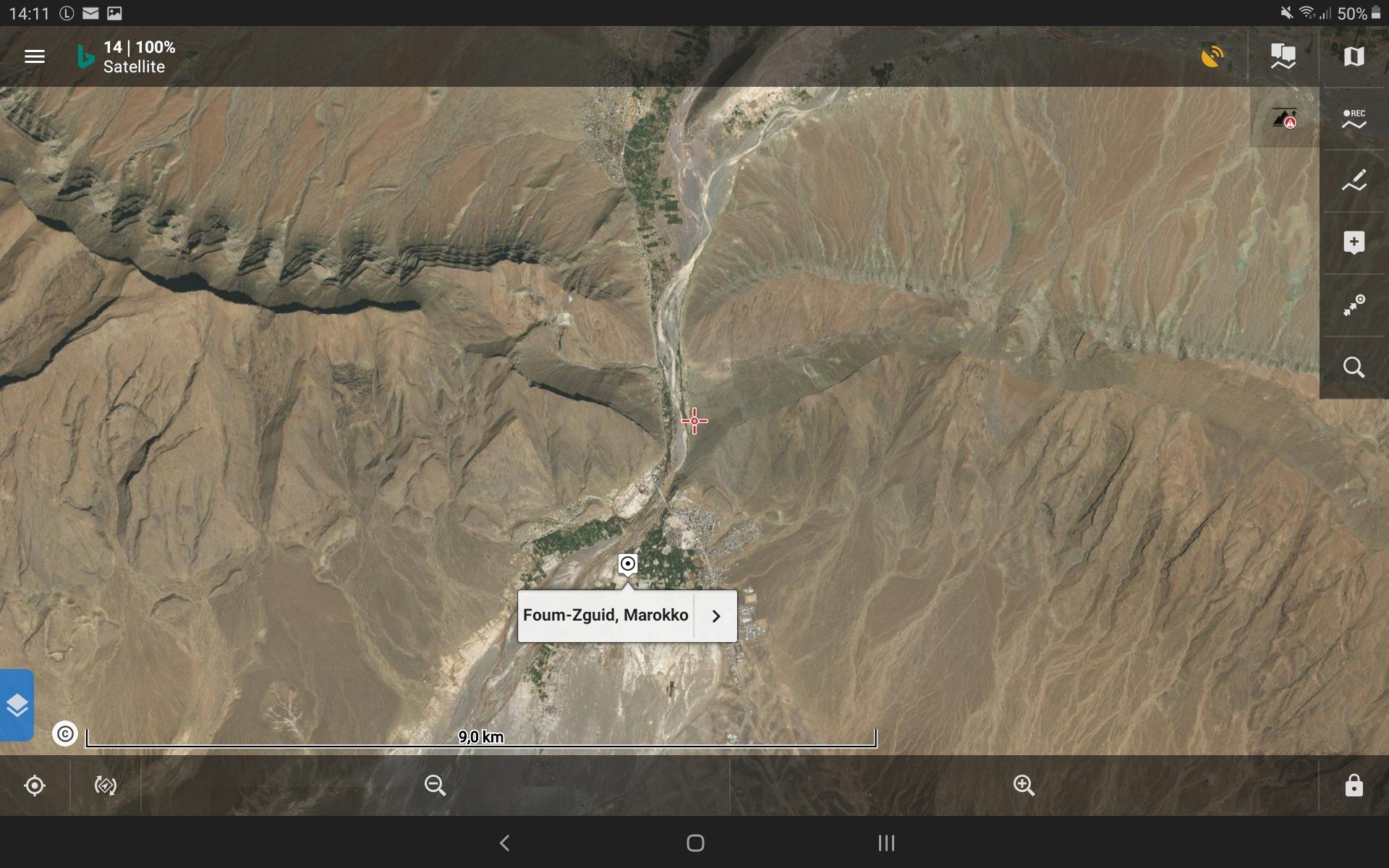Bing Satellitenkarte