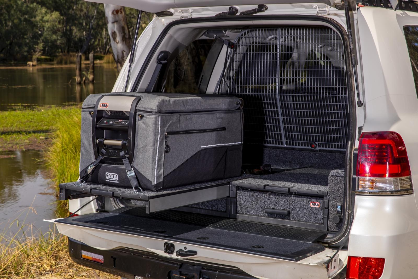 ARB Kühlbox Classic Series II - Gut geschützt und sicher verstaut.