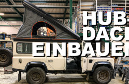 Hubdach Montage bei Allrad Klassik - 4x4PASSION #203