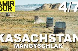 Kasachstan: Die Halbinsel Mangyschlak - Pamir Tour Teil 4 - 4x4PASSION #202