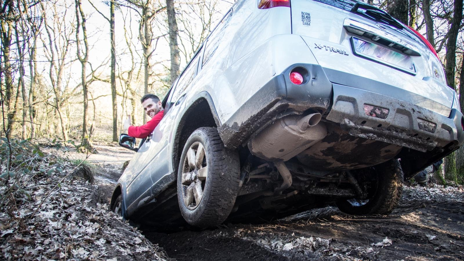 Red Rock Adventures Abenteuer Tag - Auch SUVs ohne Starrachsen können mitmachen.