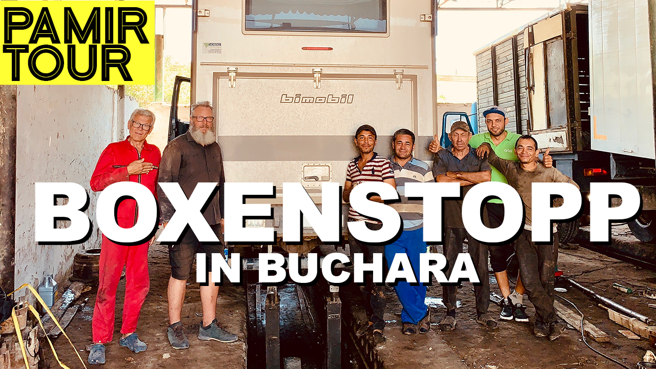 Boxenstopp in Usbekistan mit dem Iveco Bimobil EX 358 - 4x4PASSION #205