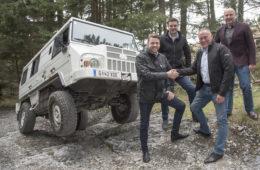 Ineos Automotive und Magna Steyr werden Partner.