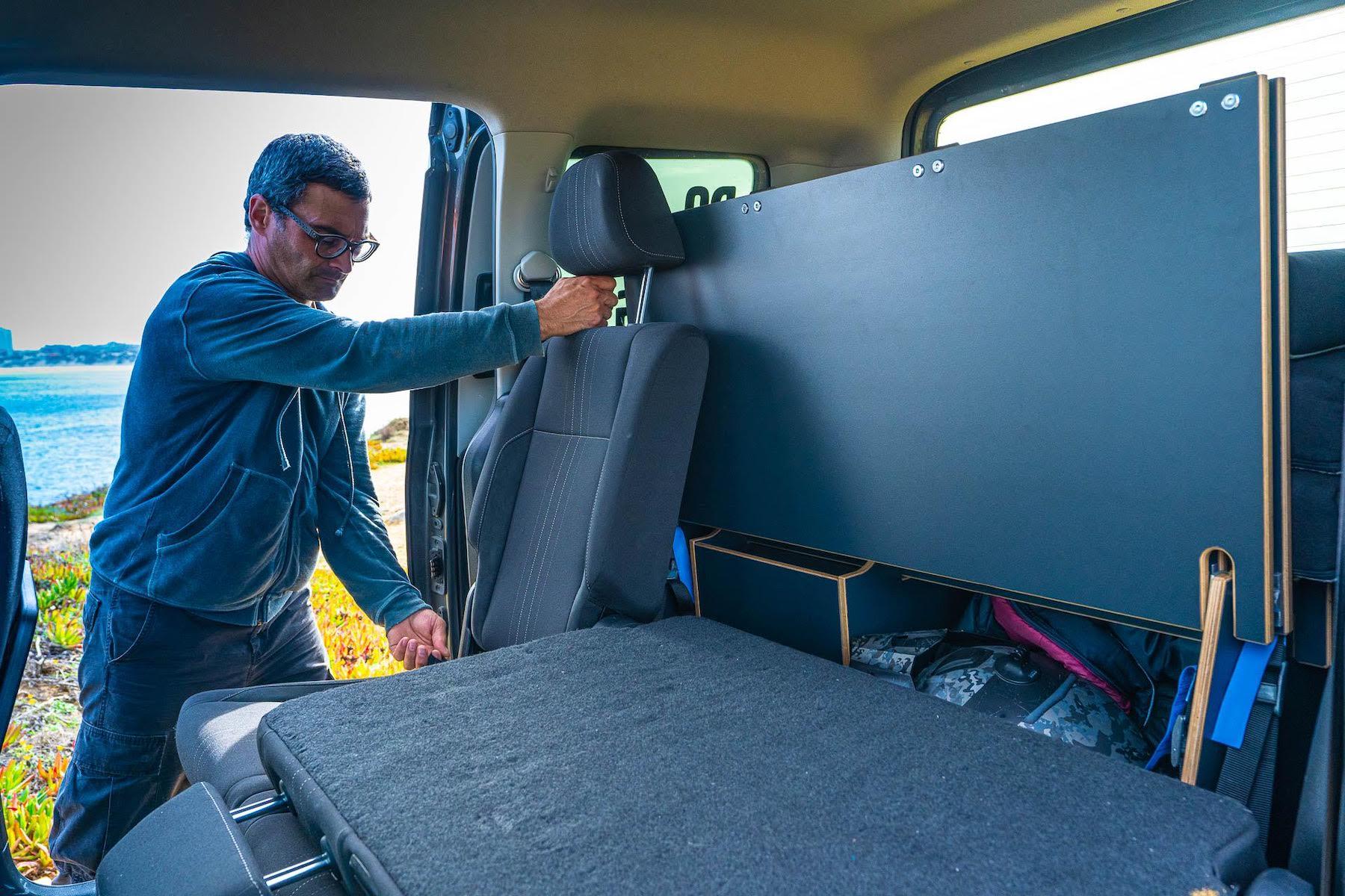 KAUAI-Camper vom VW Caddy Umbau zum Camper