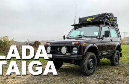 Lada Taiga 4x4 Roomtour - 4x4PASSION #218