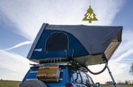 Nakatanenga Hartschalen-Hybrid-Dachzelt Maikhan von Roof Lodge