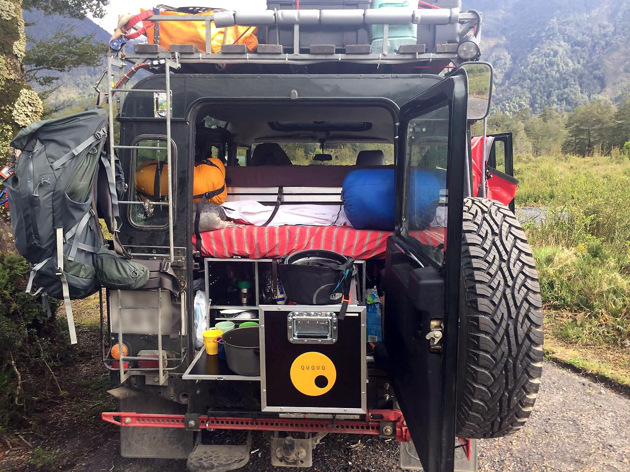 QUQUQ-Box Camping-Ausbau Defender