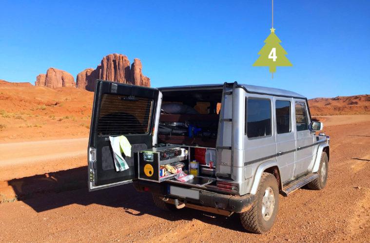 QUQUQ-Box als Camping-Ausbau im Mercedes G