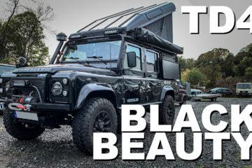 Land Rover Defender Td4 Reisemobil Roomtour - 4x4PASSION #216 - Hubdach mit Überrollkäfig