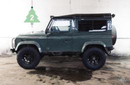 Überrollbügel für den Land Rover Defender Adventskalender