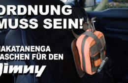Nakatanenga Molle-Taschen-System für den Jimny - 4x4PASSION #217
