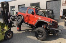 Fahrwerk für den Jeep Wrangler JL