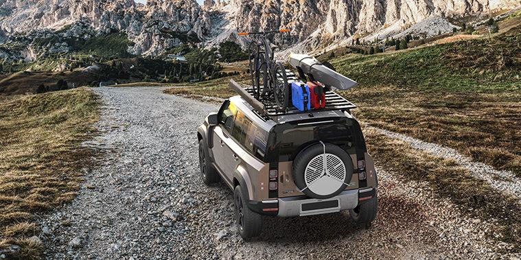 Der neue Dachträger für den 2020 Land Rover Defender von Front Runner.