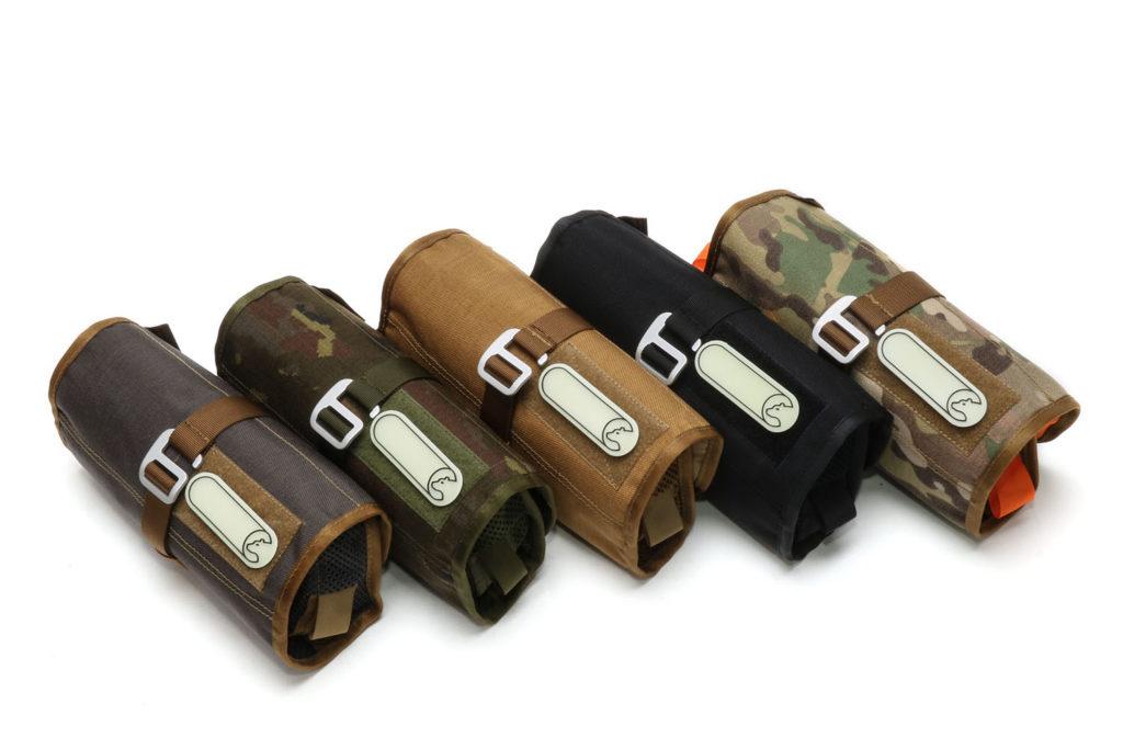 Tool-Roll Wash von Nakatanenga - Fünf Farben stehen zur Auswahl.