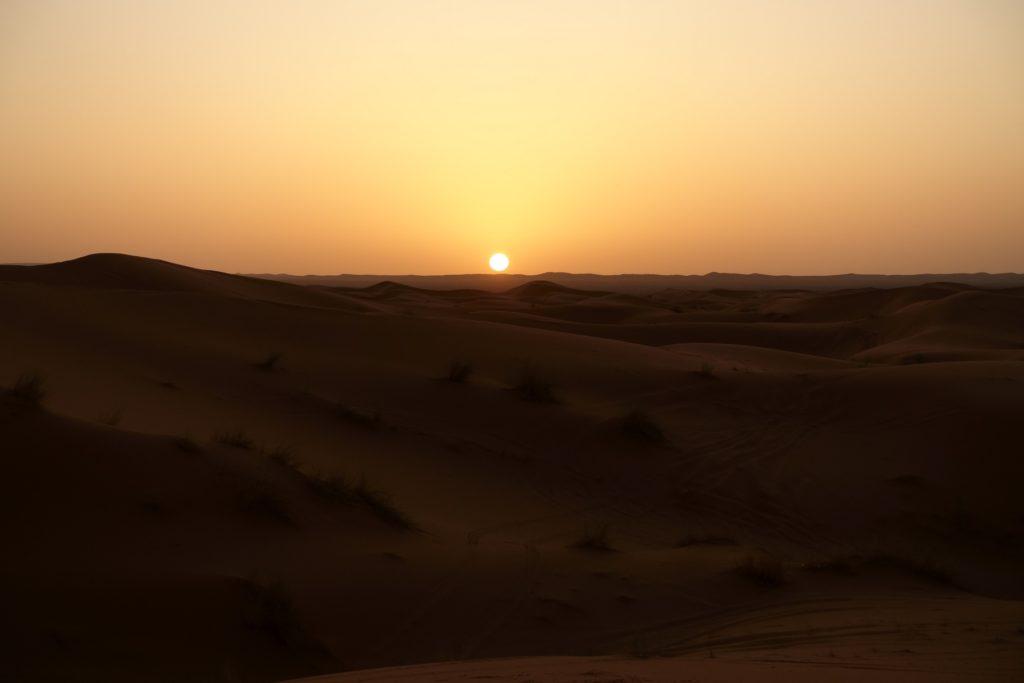 Auch der Sonnenaufgang hat seinen Reiz, es lohnt sich den Wecker zu stellen.