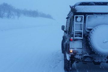 Offroad-Reisen im Winter - Titelbild