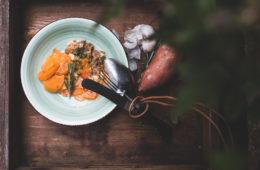Rezept Süßkartoffel-Auflauf im Dutch Oven