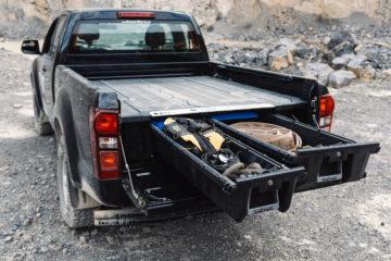 DECKED-Schubladensystem für Pick-ups mit offener Ladefläche