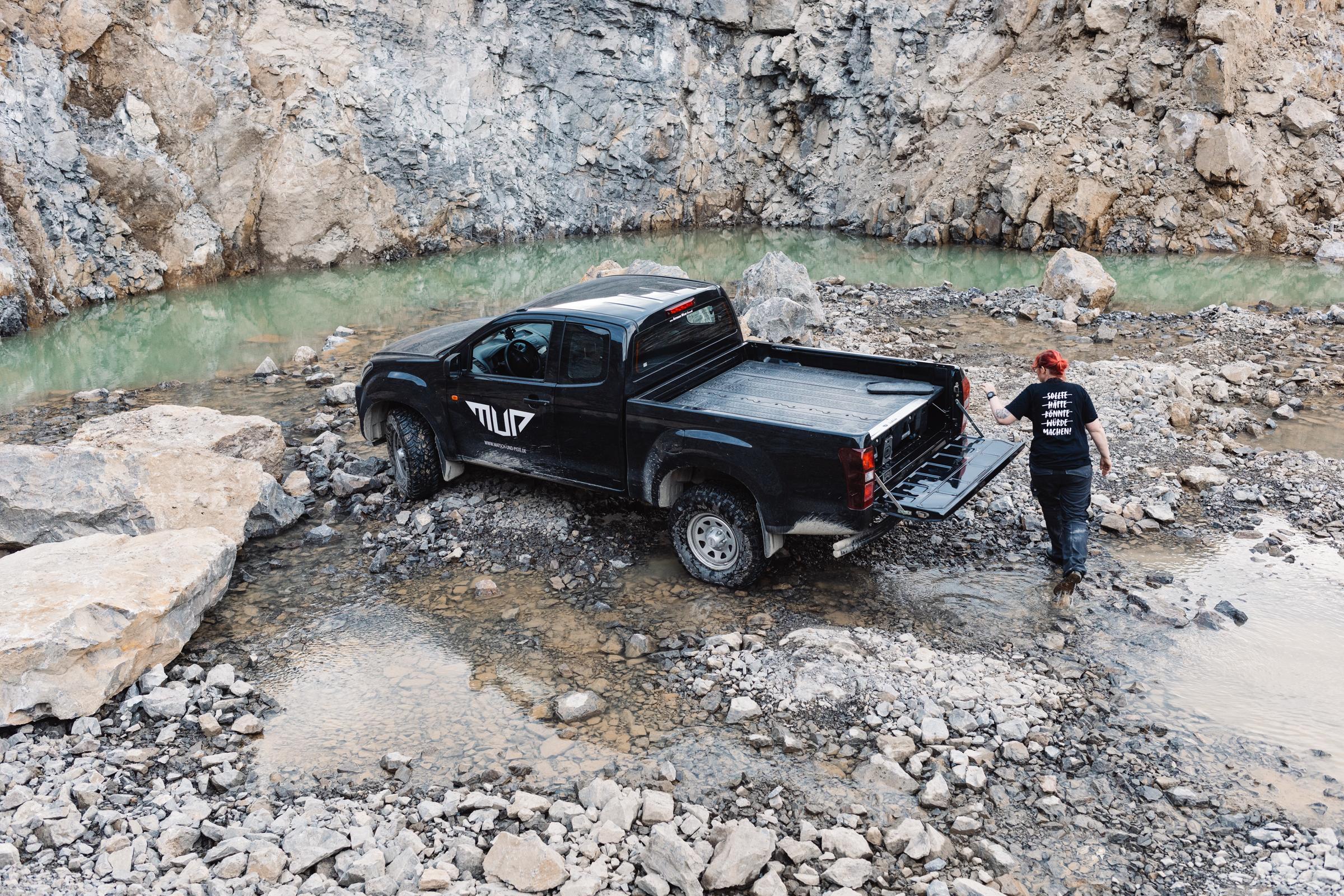 Pick-up-Auszüge für Pick-ups mit offener Ladefläche