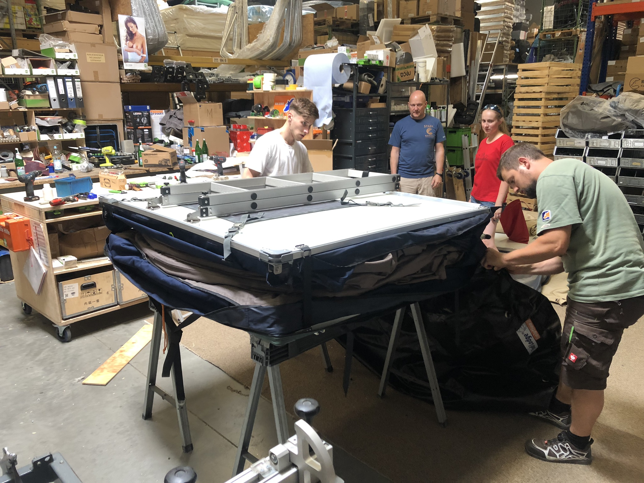 Dachzelt-Test - Zusammenbau des Roof Lodge Evolution II Extended