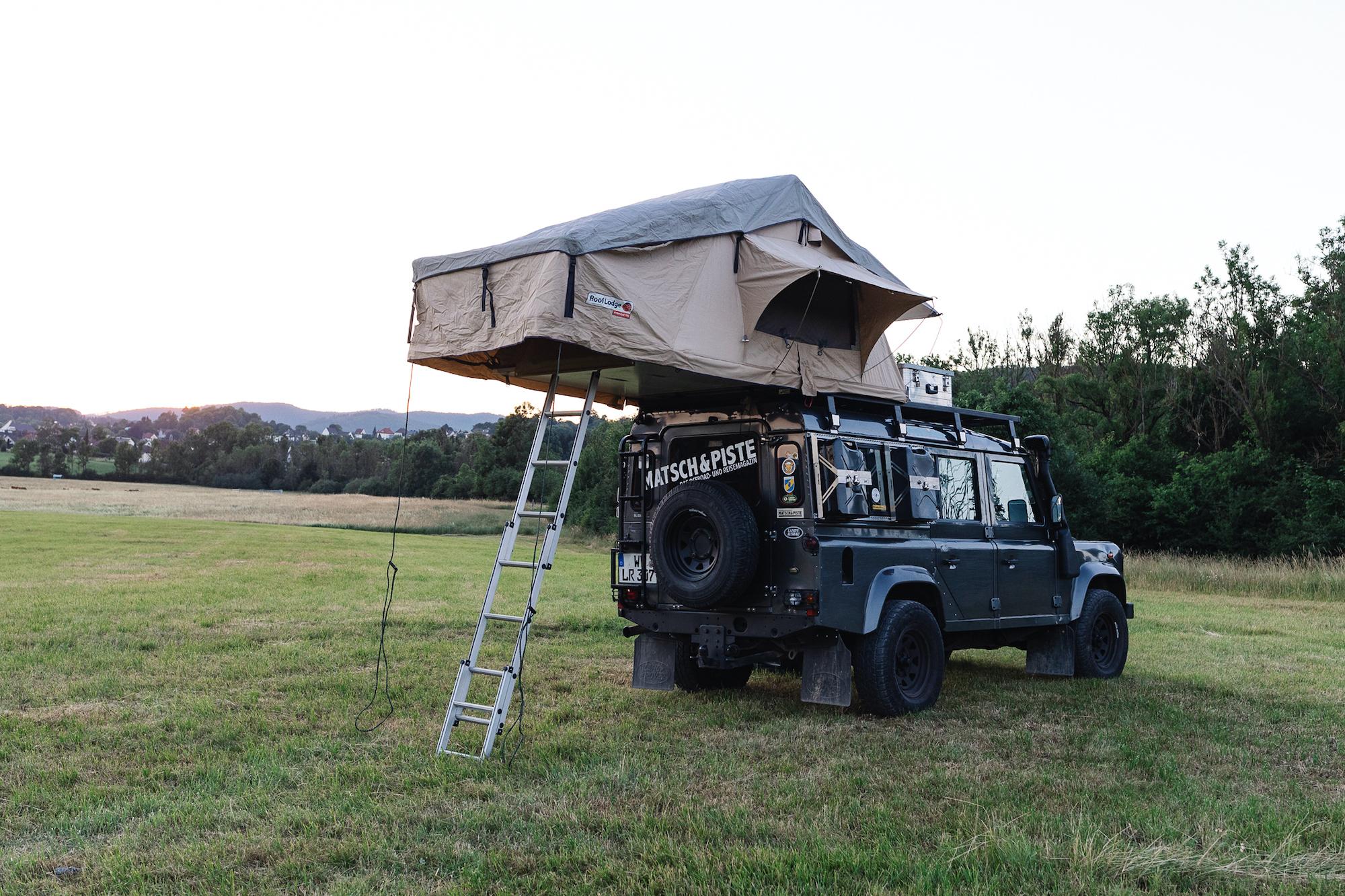 Dachzelt-Test - Das alte Dachzelt von Nakatanenga