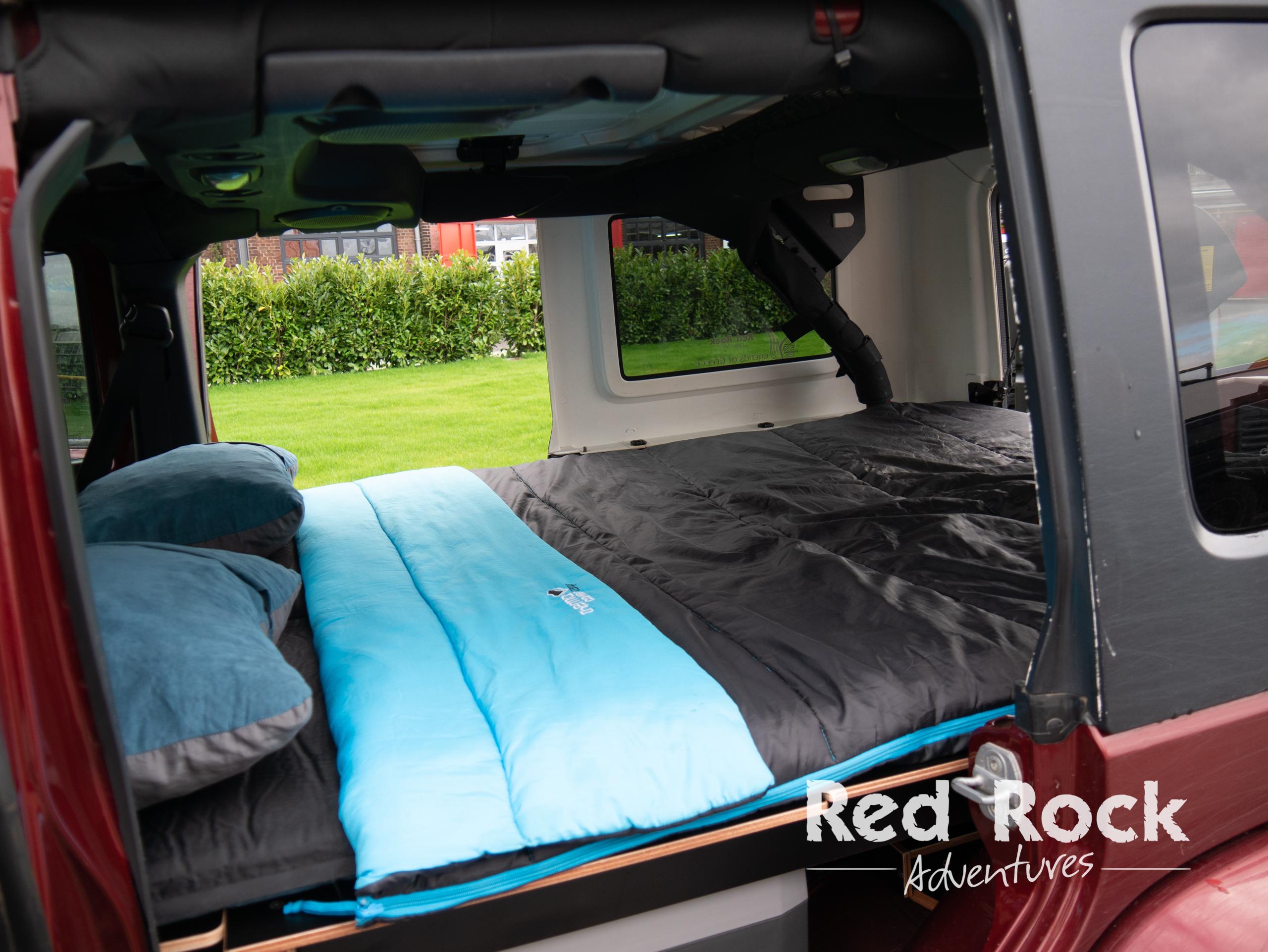 Jeep Wrangler Schlaufausbau Flexplorer von Red Rock Adventures.