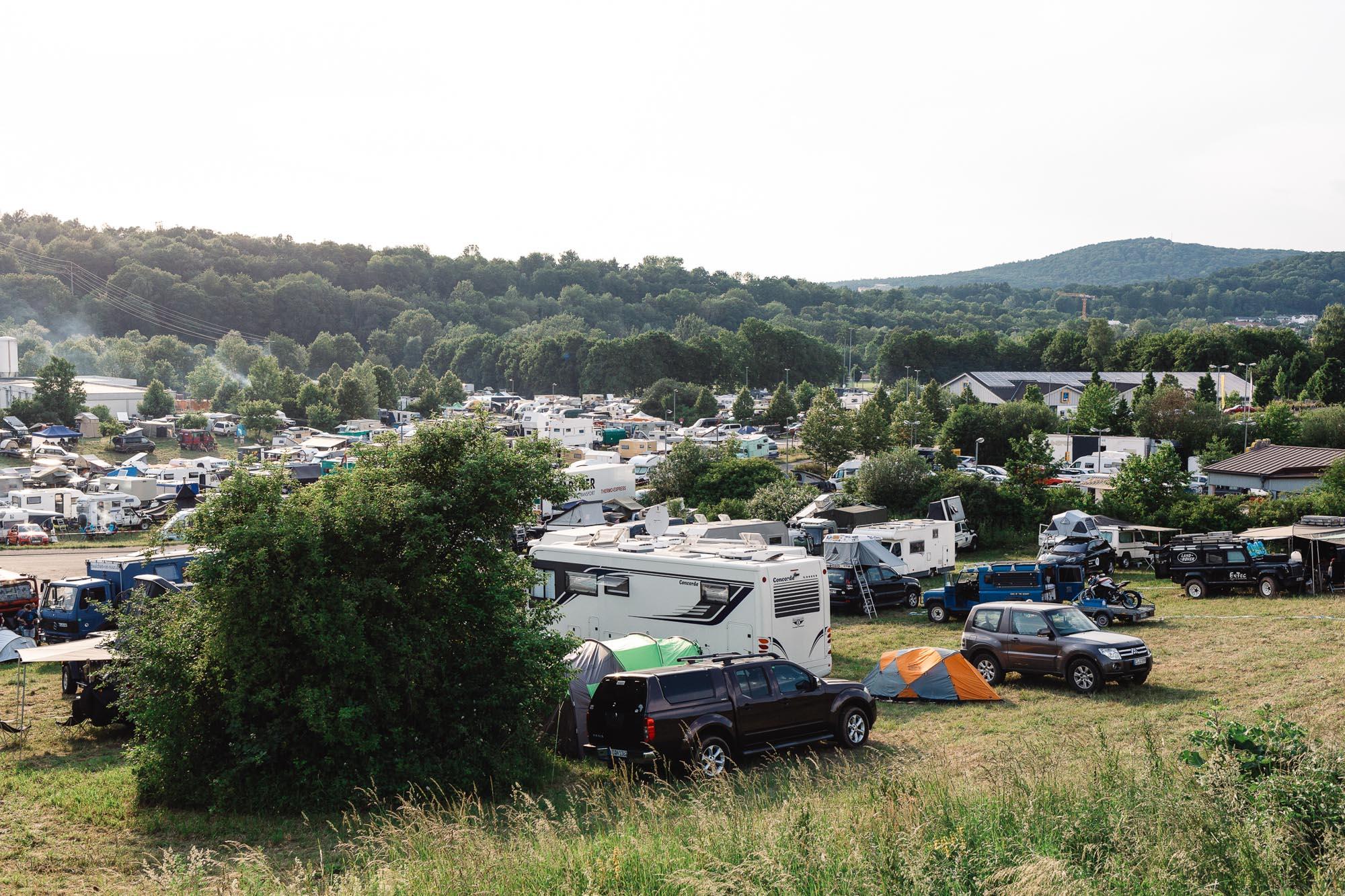 Ein kleiner Teil der CAMP AREA.