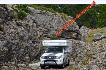 Offroad-Guide Montenegro aus dem Hobo Verlag