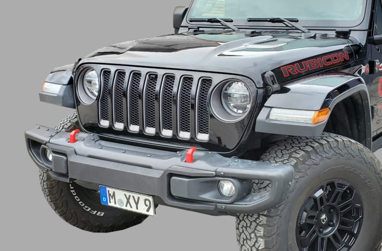 Bawarrion Fußgängerschutz für den Jeep Wrangler JL und den Gladiator JT.